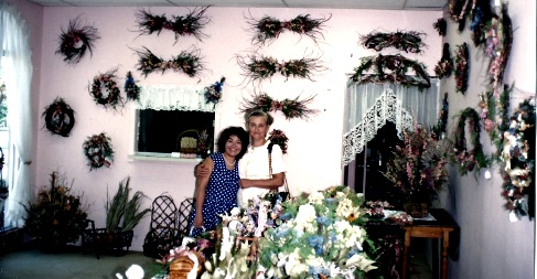 Flower Dreams Showroom Hollywood Fl. 1995