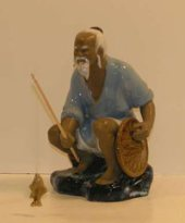 Ceramic Old man