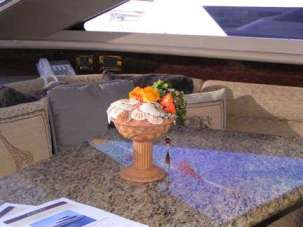 floral design for yacht
