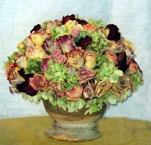 Dried Rose Arrangement