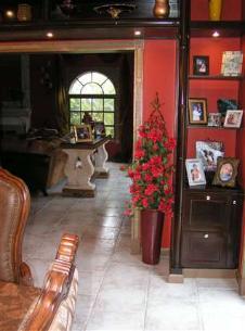 Silk Red Bouganvilla