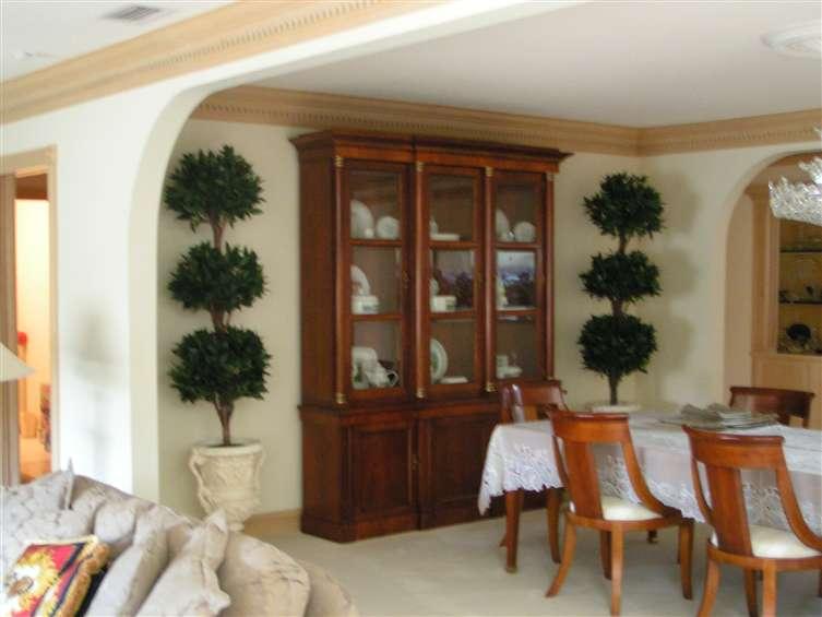 Topiary trees set