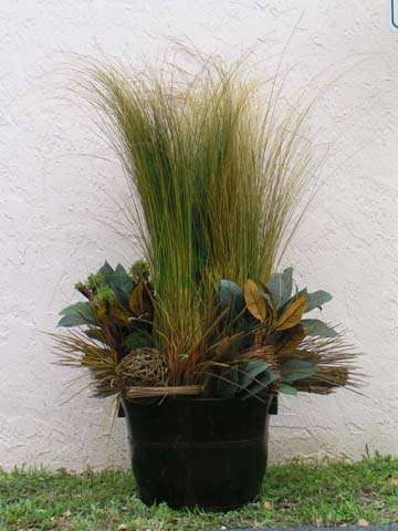 Foliage mix basket