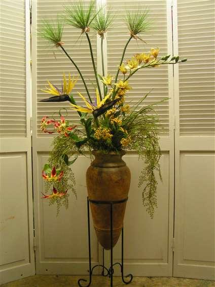 Tropical arrangement by Joy