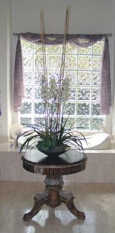 Artificial dendrobium orchid design