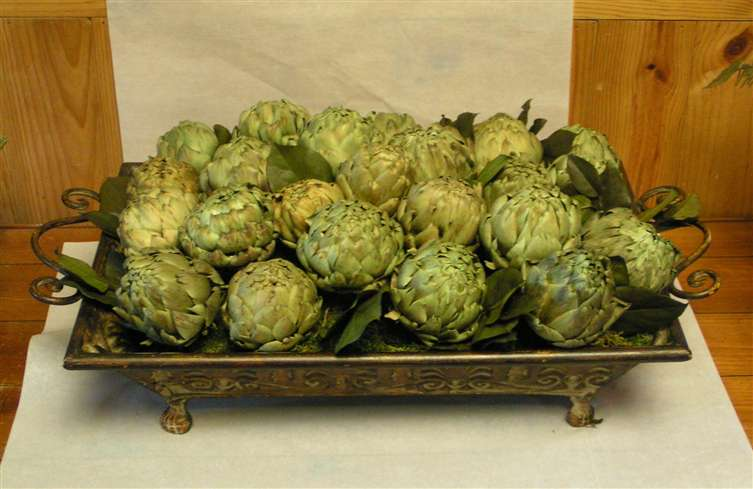 Artichoke arrangement
