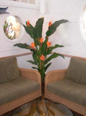 Artificial Birds of Paradise plant