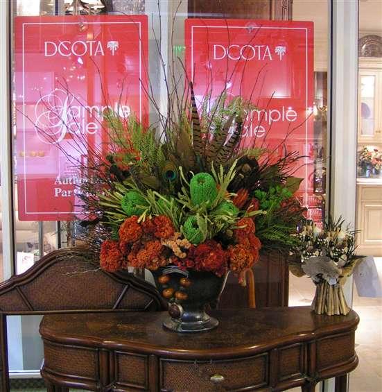 Classic urn arrangement