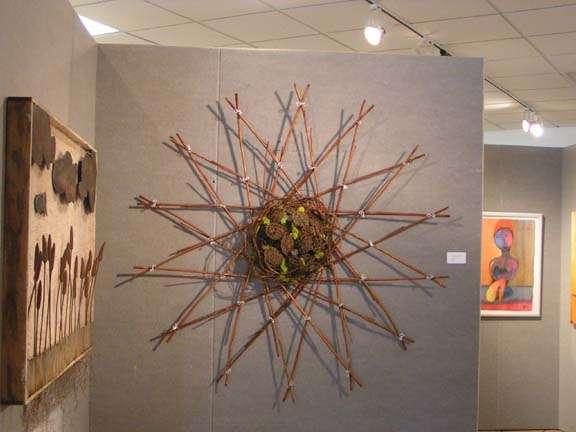The Lotus mandala artistic piece