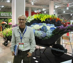 Paolo Calvenzani at the world flower expo