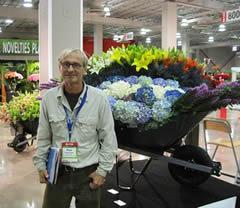 Floral Entrepreneur and decorator Paolo Calvenzani