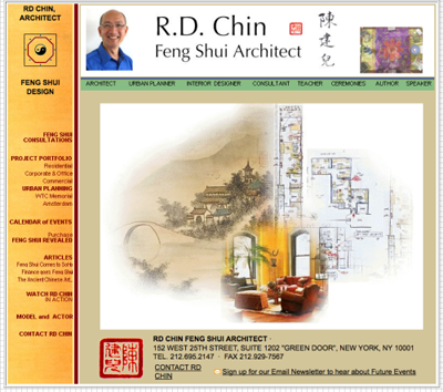 Feng Shui with master Rd Chin