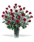 Traditional 3 dozen roses design