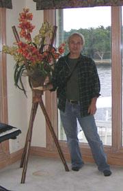Paolo ikebana tripod