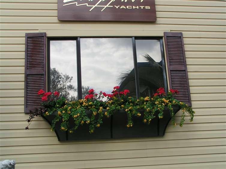 Windowsill floral design