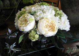 Silk Flowers Centerpiece