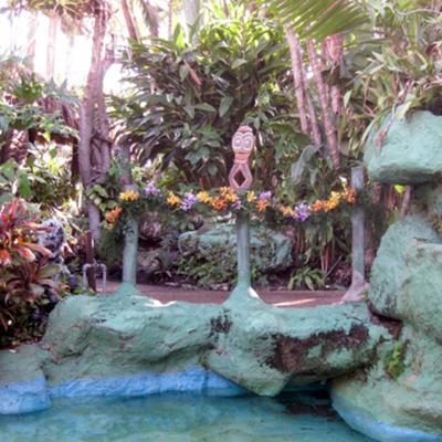 Flowerr decoration for Hawaiian garden