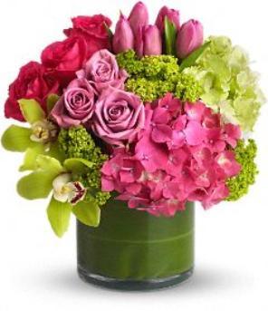Valentine Day Flower arrangement