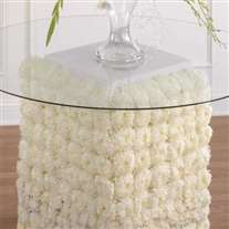 wedding flower arrangement for table base decor