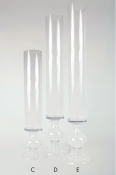 Wholesale glass vase. Petite Chantelle collection