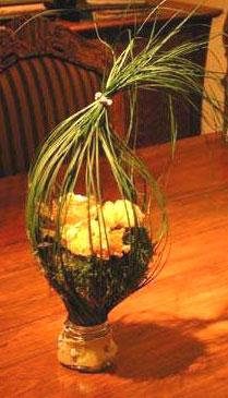 rose ikebana