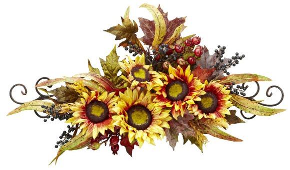 sunflower swag.